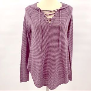 American Eagle Outfitters Soft & Sexy Knit Hoodie